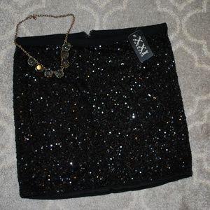 Forever 21 Sequin Skirt NWT